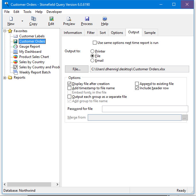 Desktop Version | Stonefield Query - Reporting Software